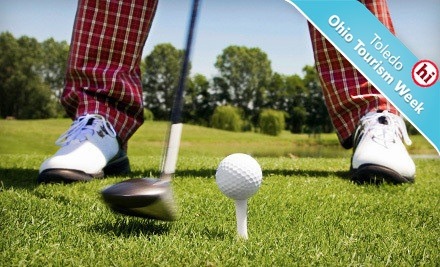 9-Hole Round of Golf for 2, Including Cart Rental - Bowling Green Country Club in Bowling Green