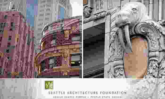 Seattle Architecture Foundation - Central Business District: Architectural Walking Tour for One, Two, or Four from Seattle Architecture Foundation (Half Off)
