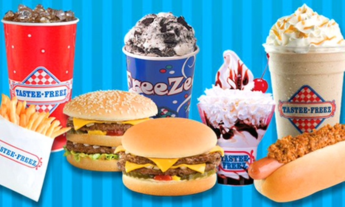 Tastee Freez - Grayslake: $15 for Three Groupons, Each Good for $10 Worth of Ice Cream and Hamburgers at Tastee Freez ($30 Total Value)