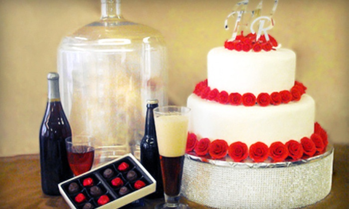 Wine & Cake Hobbies - Norfolk: $20 for $40 Worth of Supplies for Beer, Wine, Cake, Candy, Brides, Variety of Parties, and More at Wine & Cake Hobbies in Norfolk