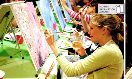Paint Nite In Sydney Groupon