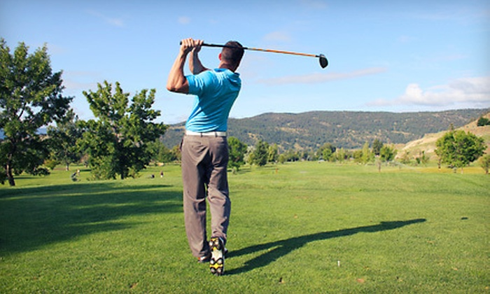 Fort Steilacoom Golf Course - North Lakewood: Nine-Hole Round of Golf for Two or Four at Fort Steilacoom Golf Course (Up to Half Off)