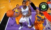 Sacramento Kings - Sleep Train Arena: Sacramento Kings Game Against Los Angeles Lakers at Sleep Train Arena on Saturday, March 30 (Up to 58% Off)