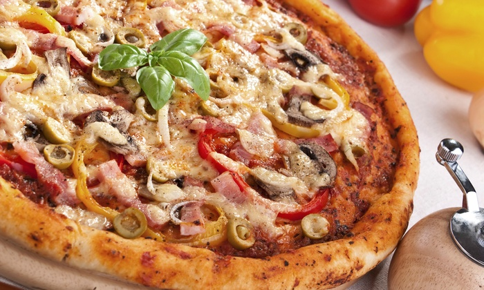 Roma Pizza & Restaurant - Middletown: Pizza Meal for Two or Four or $11 for $20 Worth of Cuisine at Roma Pizza & Restaurant