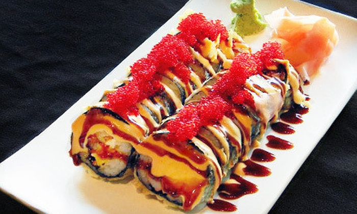 Hoshi Sushi Lounge - Des Moines: $20 for $40 Worth of Japanese Entrees and Sushi at Hoshi Sushi Lounge