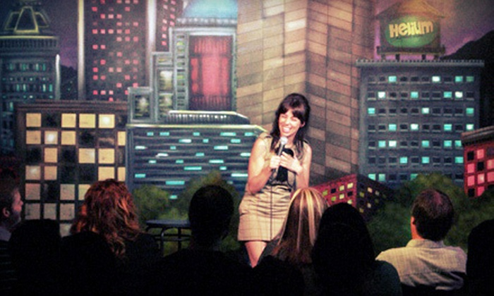 Helium Comedy Club Buffalo - Central Business District: $23 for Two Tickets and One Appetizer at a Standup Show at Helium Comedy Club (Up to $53 Value)