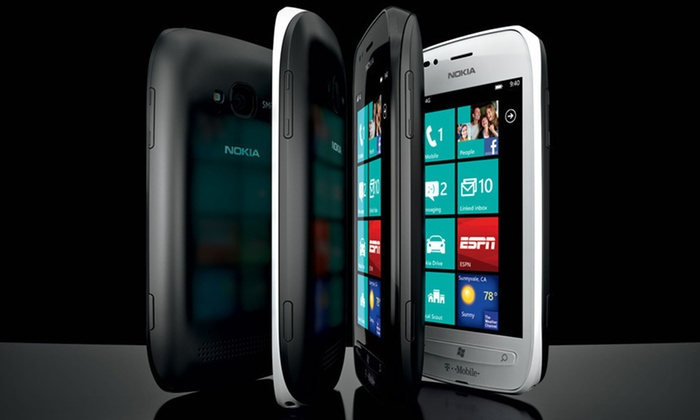 Nokia Lumia 710 4G Windows Smartphone: $179 for a Nokia Lumia 710 Unlocked 4G Windows Phone in Black or White ($299.99 List Price). Free Shipping and Returns.