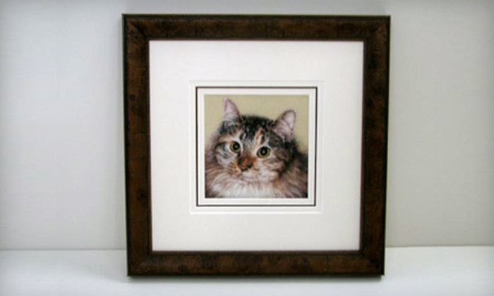Frame It to a T - Lower Hominy: $40 for $85 Worth of Custom-Framing Services at Frame It to a T