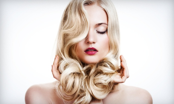Charlotte's Salon and Spa - Baton Rouge: Haircut and Style with Optional Deep Conditioning or Partial Highlights at Charlotte's Salon and Spa (Up to 64% Off)