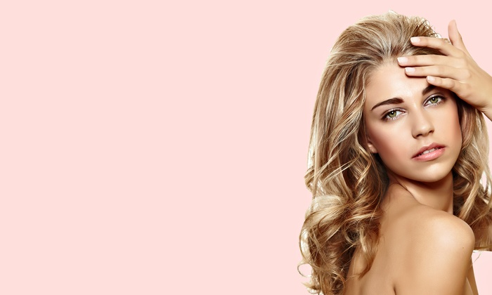 Shear Steel Salon - Cultural District: Cut, Style, and Blowout with Conditioning, All-Over Color, or Partial Highlights at Shear Steel Salon (Up to 68% Off)