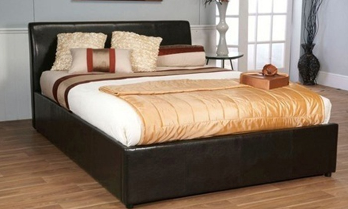 Groupon Goods: Ottoman Gas Lift Storage Bed from R2 799 Including Delivery (Up to 49% Off)