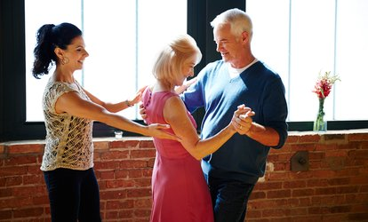 image for Swing <strong>Dances</strong> and Lessons at Midtown Stomp Swing Dancing (Up to 79% Off)
