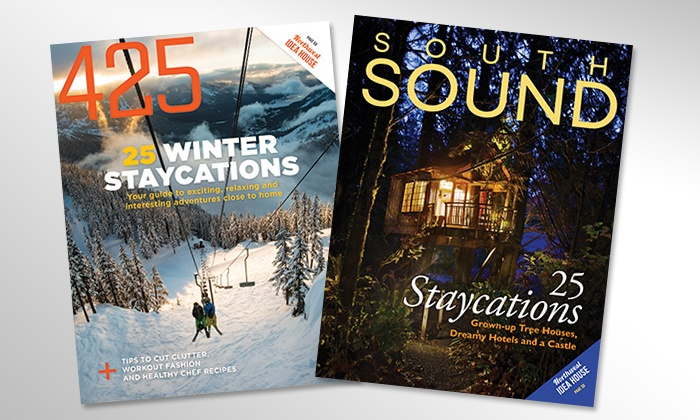 """""""South Sound"""" Magazine and """"425"""" Magazine: Two- or Three-Year Subscription to """"South Sound Magazine"""" or """"425 Magazine"""" (Up to 50% Off)"""