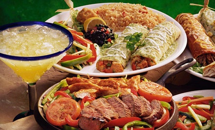 Tex-Mex Meal for Two with Two Frozen Margaritas - Ah Chihuahua in Manhattan
