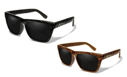 Rogue Leather-Wrapped Polarized Sunglasses for Men or Women