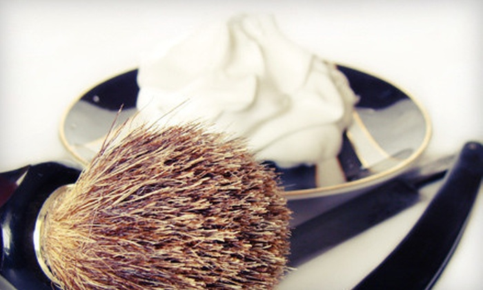 Lanzetta's - A Classic Barbershop - Delray Beach: $20 for a Men's Haircut and Hot-Lather Shave at Lanzetta's – A Classic Barbershop ($40 Value)
