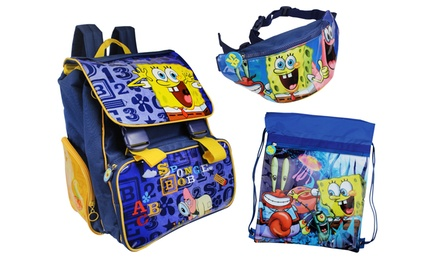 Spongebob Backpack Sets in Choice of Colour