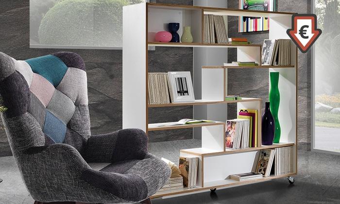 libreria in legno groupon goods On libreria groupon