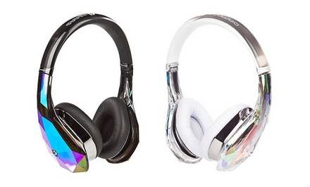 Monster Diamond Tears Edge Apple-Certified On-Ear Headphones with ControlTalk Cables