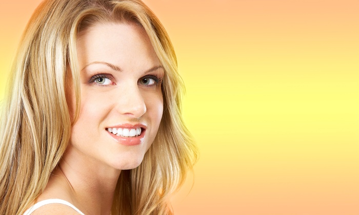 Aesthetics Laser - Clearwater: In-Office Bright and White Smile Teeth-Whitening Session (60% Off)