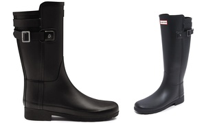 Hunter Original Refined Women's Adjustable Strap Rain Boots