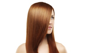 Andrew James Salon: Haircut with Conditioning, Color, or Highlights, or Keratin Treatment at Andrew James Salon (Up to 61% Off)