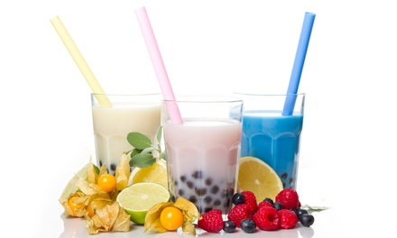 Bubble Tea, Smoothies, and Gelato at Boba Smoothie (Up to 38% Off). Two Options Available.