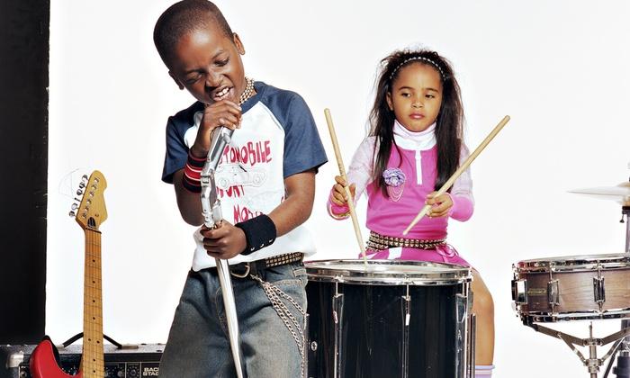 Studio Arts Academy & Rock School - Multiple Locations: One Month of Little Rockers or Rock School Kids' Music Classes at Studio Arts Academy & Rock School (60% Off)