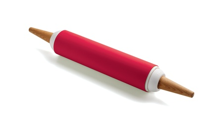 Chef'n Pin Pair Silicone and French Rolling Pin Including Delivery