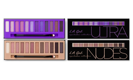 L.A. Girl Beauty Bricks Eyeshadow Palette Set in Ultra and Nudes