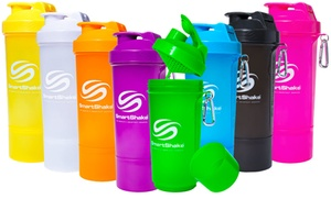 2-pack Of 17oz. Smart Shake Shaker Cups
