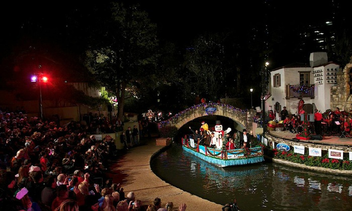 The River Walk Association - San Antonio River Walk: $15 to Attend The River Walk Association's Ford Holiday River Parade & Lighting Ceremony