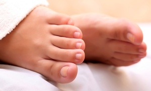 Family Foot & Ankle Specialists: $23 for a Medical-Grade Mani-Pedi at Family Foot & Ankle Specialists ($65 Value)