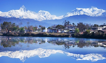 Nepal: 5 Night Tour For One, Two or Four with Accommodation, Trekking, Transportation, All Meals and Sightseeing