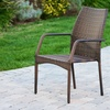 Set of 2 Michael Outdoor Wicker Chairs