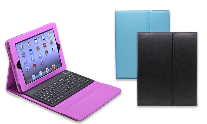 Aduro Liqua-Shield iPad Keyboard Folios: Aduro Liqua-Shield Folio with Bluetooth Keyboard for iPad 2/3/4, Air, or Mini