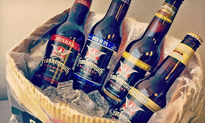 Frankenmuth Brewery - Frankenmuth: $24 for a Case of Beer and $15 Worth of Bar Food at Frankenmuth Brewery ($47.39 Value)