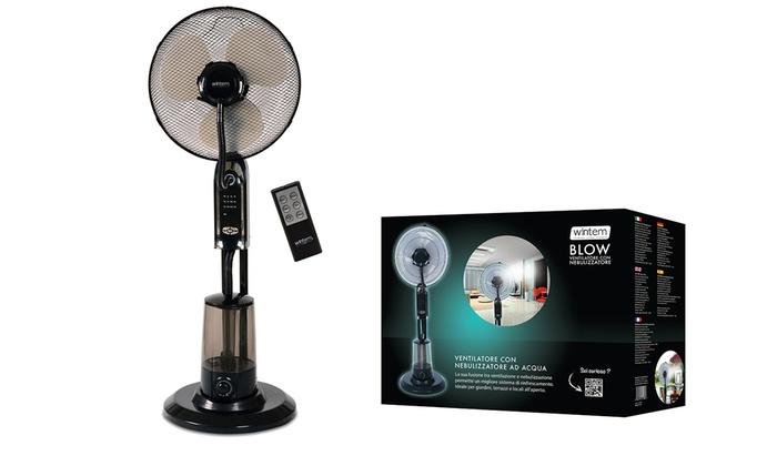 Ventilatore con nebulizzatore blow groupon goods for Ventilatore nebulizzatore per interni