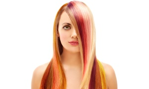 Kink hair: Wash, Cut and Blow-Dry With Optional Highlights and Colour at Kink Hair (Up to 80% Off)