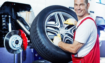 New Tires or Brake Pads and Rotors at Scott's U-Save (51% Off)