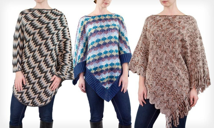 Missoni Women's Poncho: Missoni Women's Poncho (Up to 66% Off). Multiple Styles Available. Free Shipping.