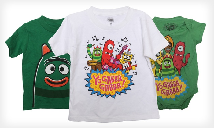 yo gabba gabba baby clothing groupon goods