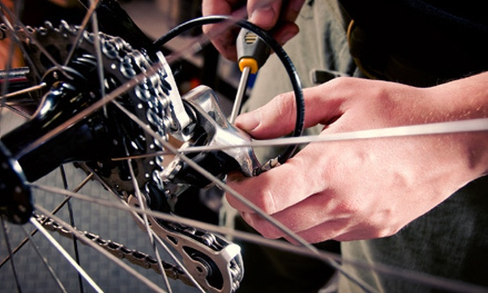 Wrench Bicycle Workshop - Westlake: Basic Bike Tune-Up with Optional Drivetrain Cleaning at Wrench Bicycle Workshop (51% Off)