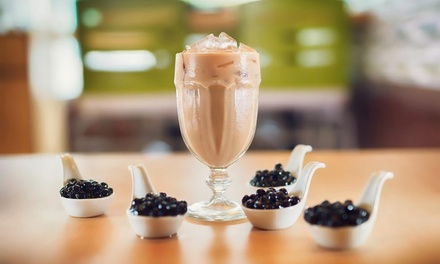 $10 for Four Groupons, Each Good for $5 Worth of Tea, Smoothies and Shaved Snow at Tealosophy ($20 Value)