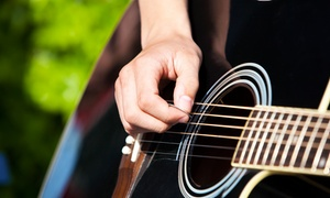 Soul Search Records: Four or Eight Weeks of Private Music Lessons at Soul Search Records (Up to 76% Off)
