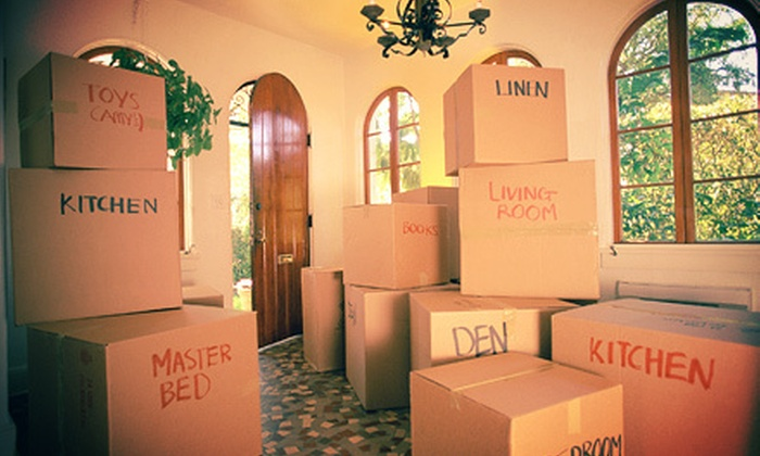 Orange Moving - Los Angeles: Four or Six Hours of Services from Orange Moving (51% Off)