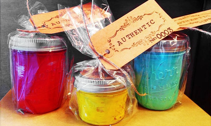 Authentic- A Candle Co. - Frisco: Candle-Making Class for Two, Four, or Six at Authentic- A Candle Co. (46% Off)
