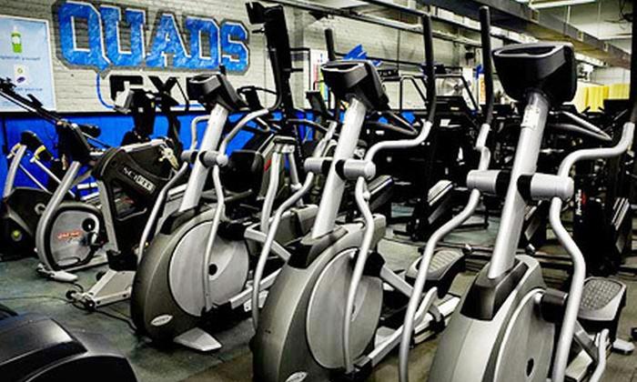 Quads Gym - Lakeview: $29 for 10 Gym Visits to Quads Gym ($80 Value)