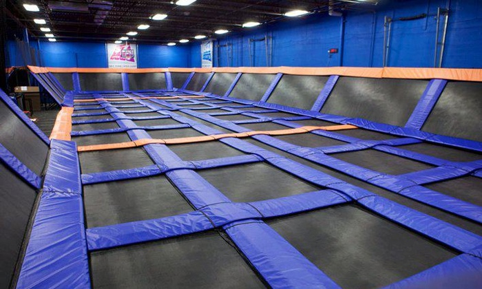 Sky Zone Indoor Trampoline Park - Lost Lake: Up to 90 Minutes of Jump Time for Two, Four, or Six at Sky Zone Indoor Trampoline Park (Up to 53% Off)