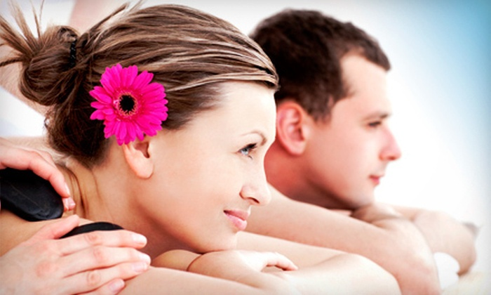 Ma'ati Spa - Downtown Winston-Salem: 60- or 90-Minute Relaxation or Deep-Tissue Aromatherapy Massage with Wine for One or Two at Ma'ati Spa (Up to 63% Off)